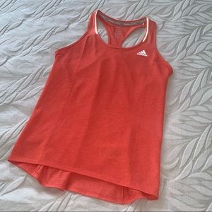 Adidas climalite racer back running tank. Size S